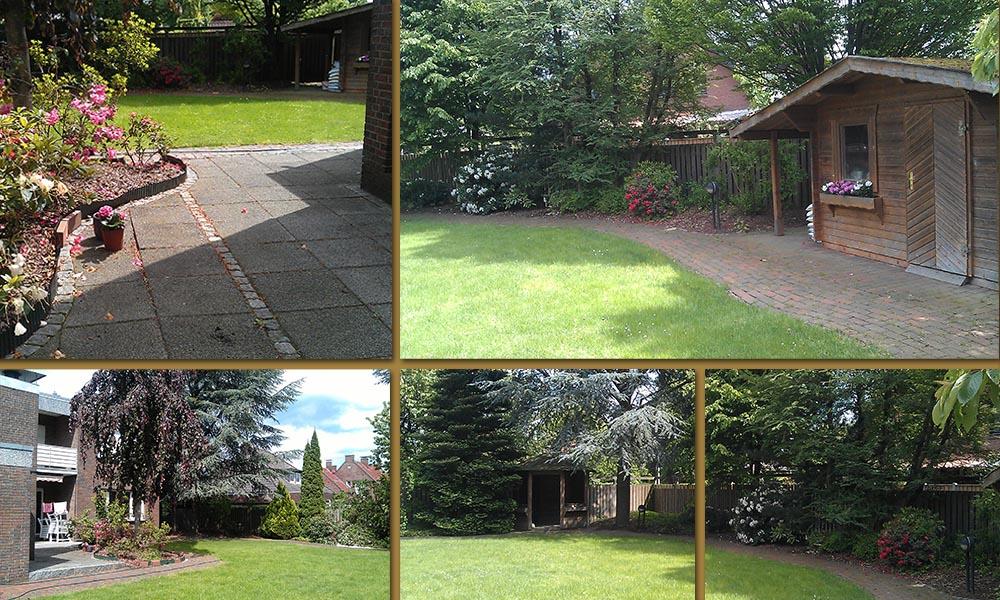 Bed and cloppenburg la villa avec jardin priv e for Jardin 800m2